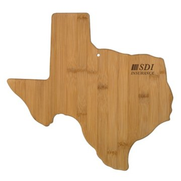 Texas Bamboo Cutting Board