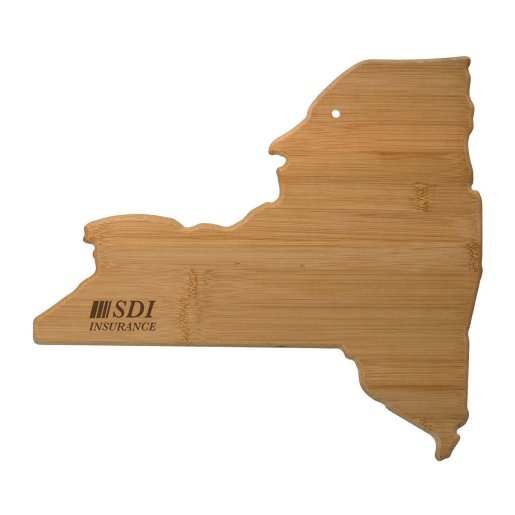 New York Bamboo Cutting Board