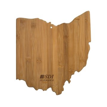 Ohio Bamboo Cutting Board