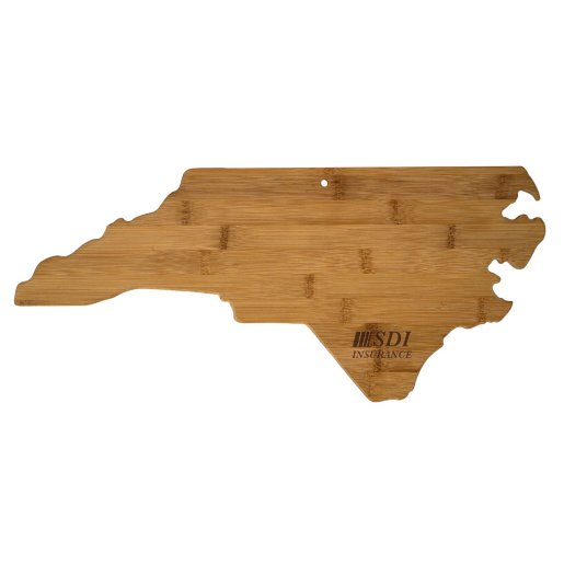 North Carolina Bamboo Cutting Board
