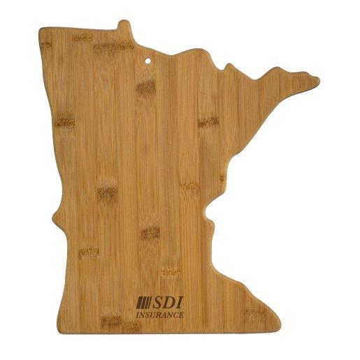 Minnesota Bamboo Cutting Board