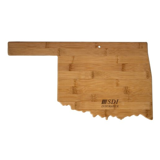Oklahoma Bamboo Cutting Board
