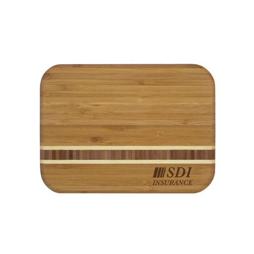 Stripe Bamboo Cutting Board