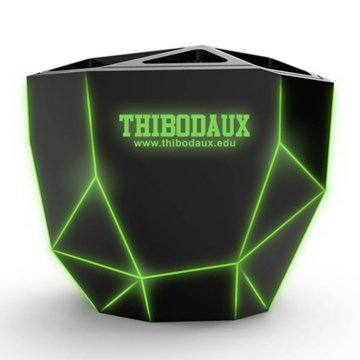 Light-Up Geometric Wireless Speaker