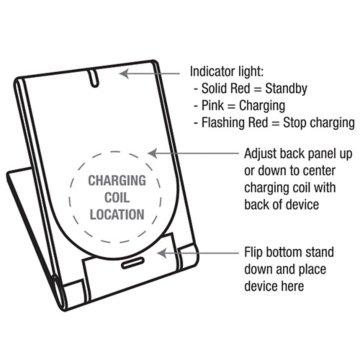 PowR Stand Wireless Charging Pad