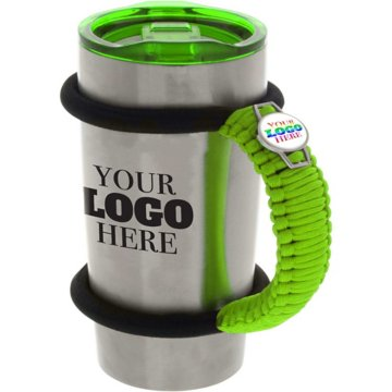 Vacuum Insulated Tumbler with Cord Handle