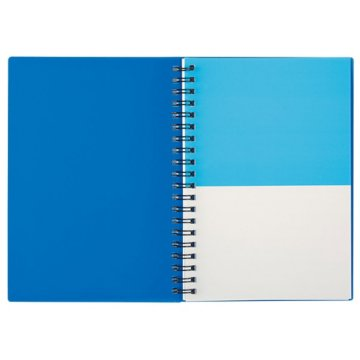 Color Block Spiral Notebook