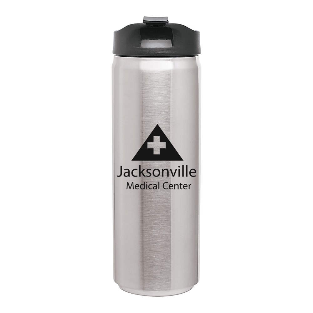 Stainless Steel Can Tumbler - 16 oz.