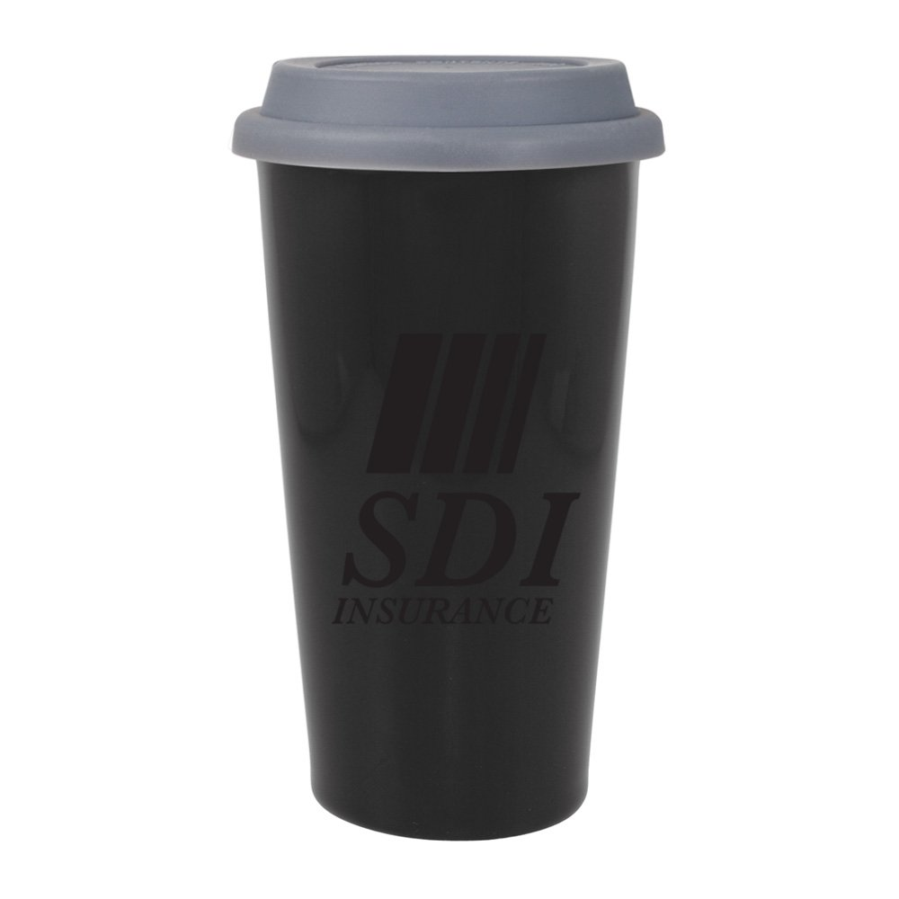 Porcelain To-Go Mug - 16 oz.