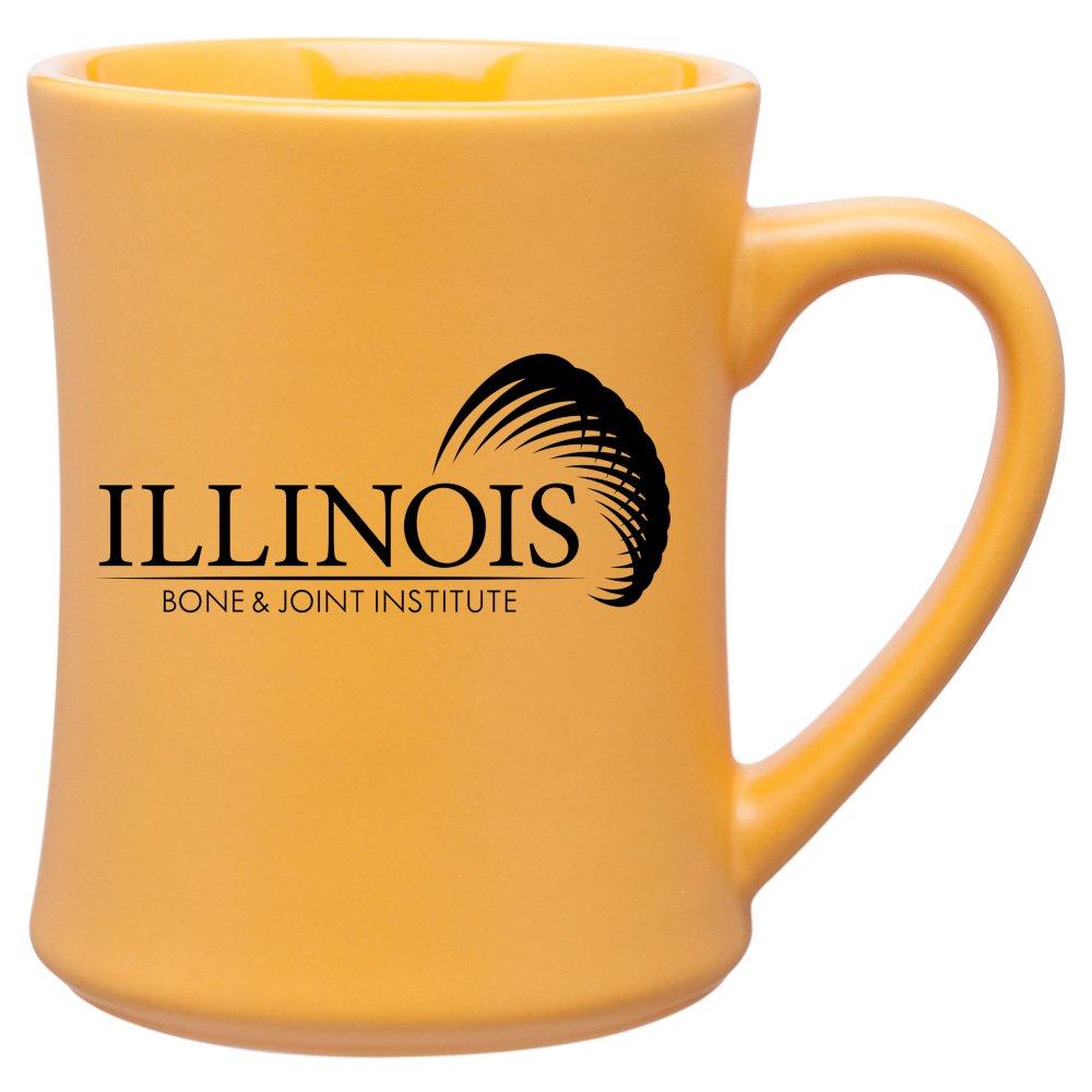 Stoneware Hourglass Mug