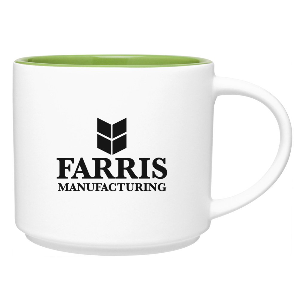 16 oz. Color Pop Coffee Mug - Matte White
