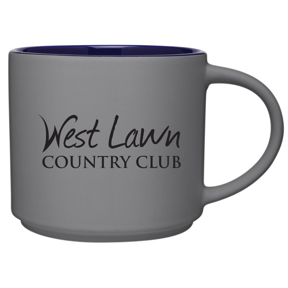 16 oz. Color Pop Coffee Mug - Matte Gray