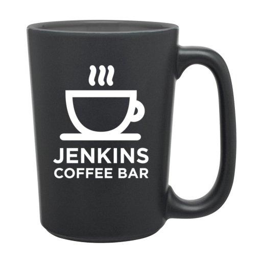 Tall Color Pop Coffee Mug - Matte Black