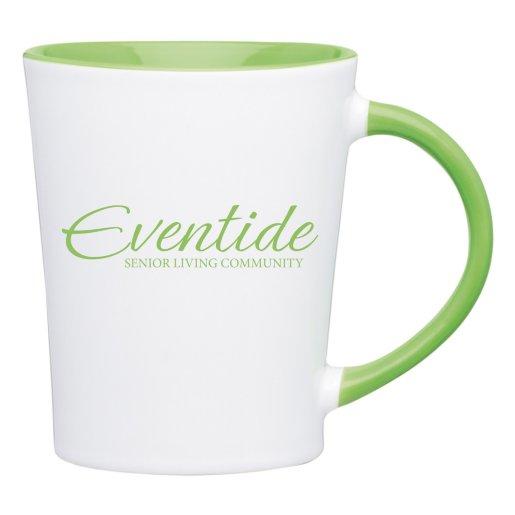 Colored Handle Mug