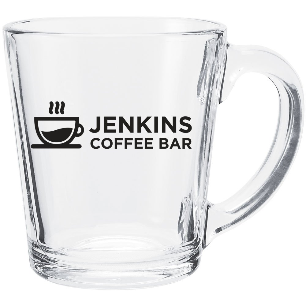 Tapered Glass Mug