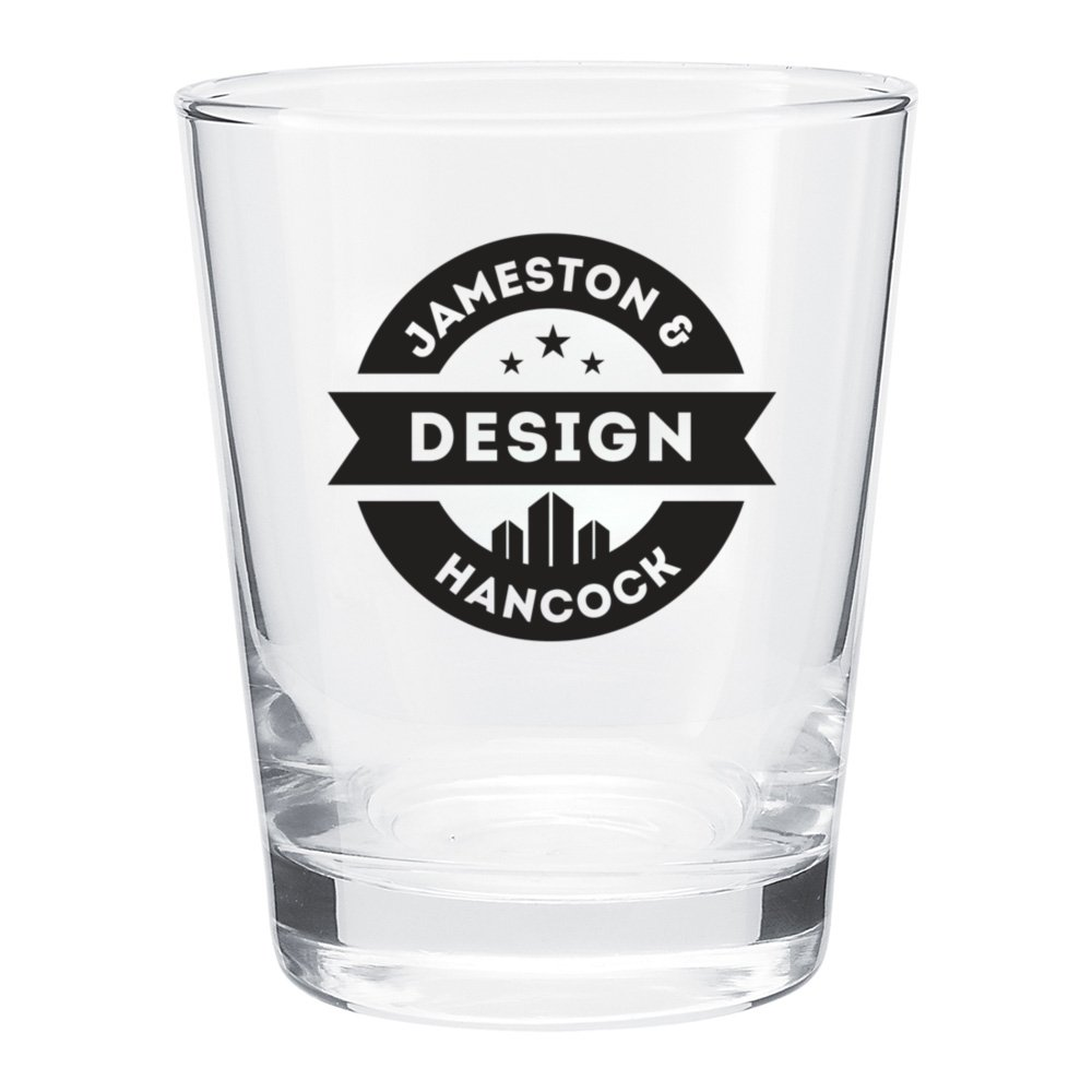 Tapered Double Old Fashioned Glass - 15 oz.