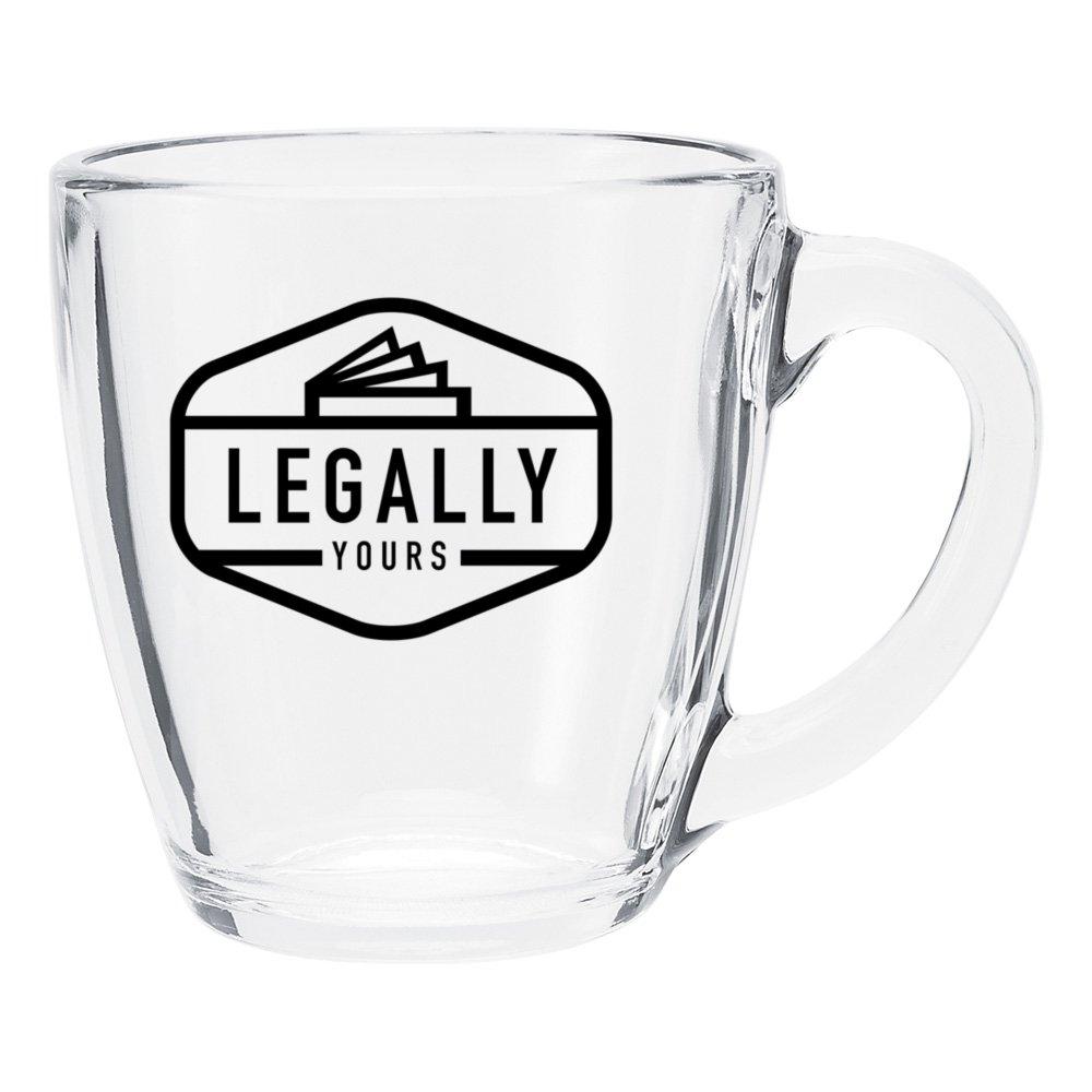 Rounded Glass Mug