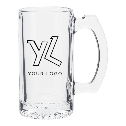 Glass Sport Mug - 12.5 oz.