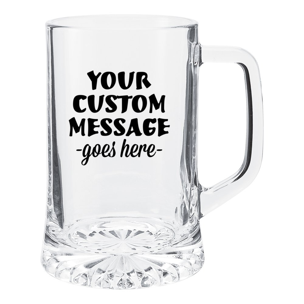 Tapered Glass Sport Mug - 21 oz.