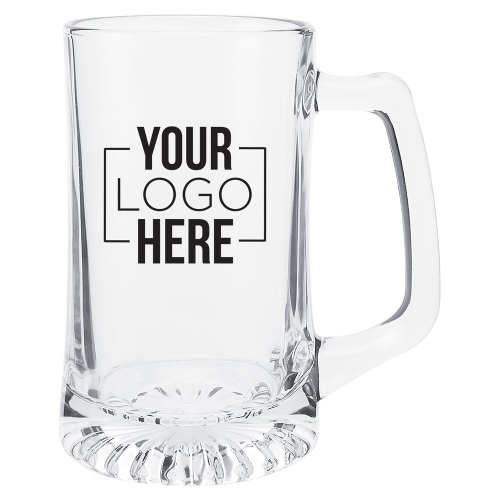 Tapered Glass Sport Mug - 25 oz.