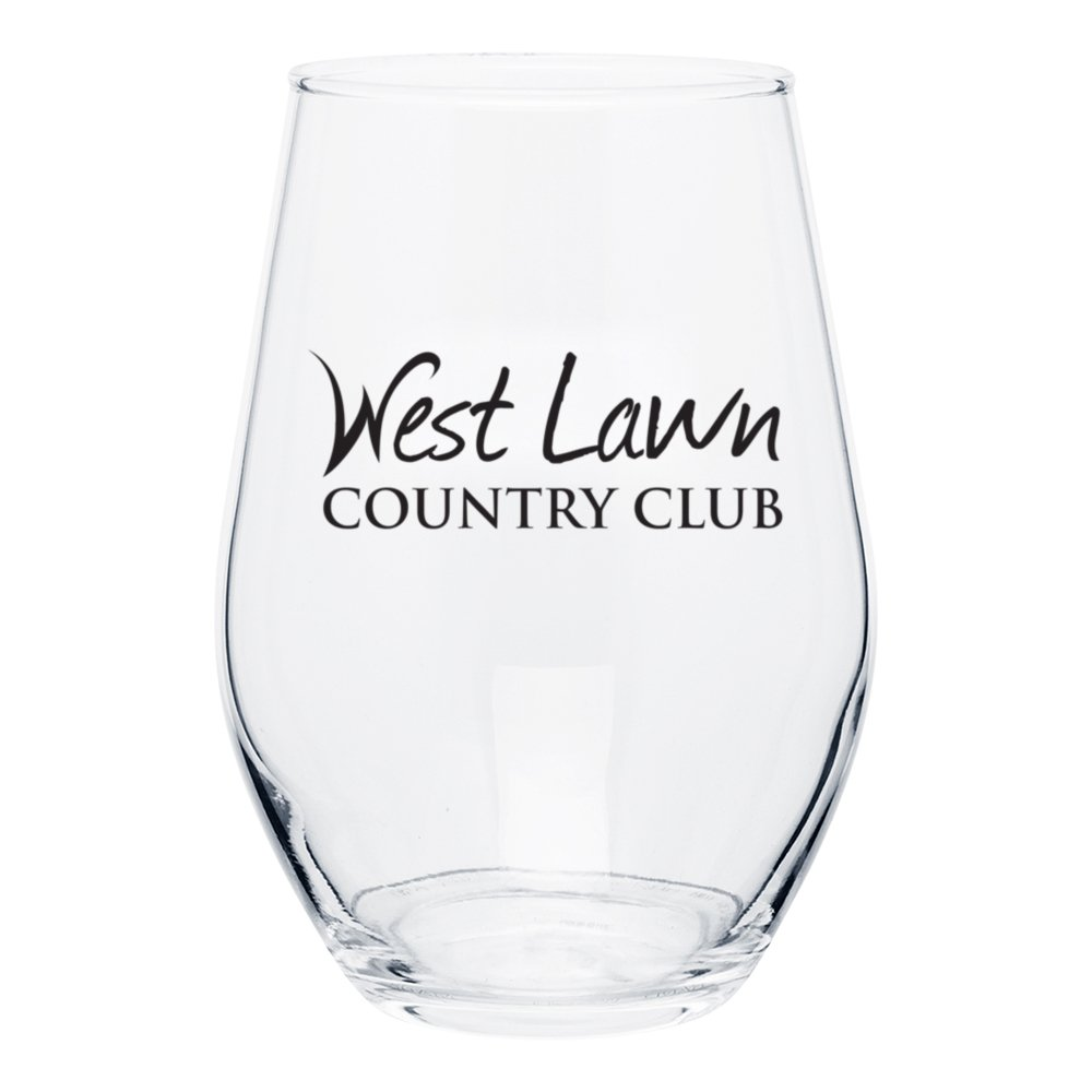 Curvy Silhouette Wine Glass - 11.5 oz.