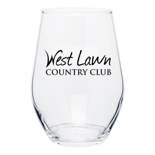 Curvy Silhouette Wine Glass - 11.5 oz.