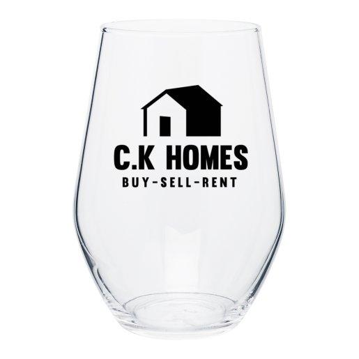 Curvy Silhouette Wine Glass - 19 oz.