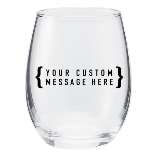 Stemless Wine Taster Glass - 5.5 oz.