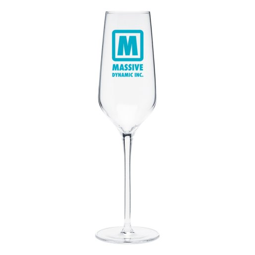 Prism Flute Glass