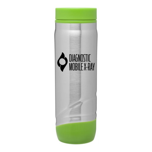 Color Accent Stainless Steel Travel Mug