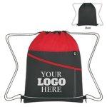 Color Streak Drawstring Backpack