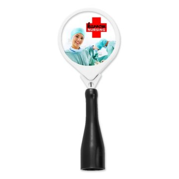 Anti-Microbial Retractable Round Pen Holder