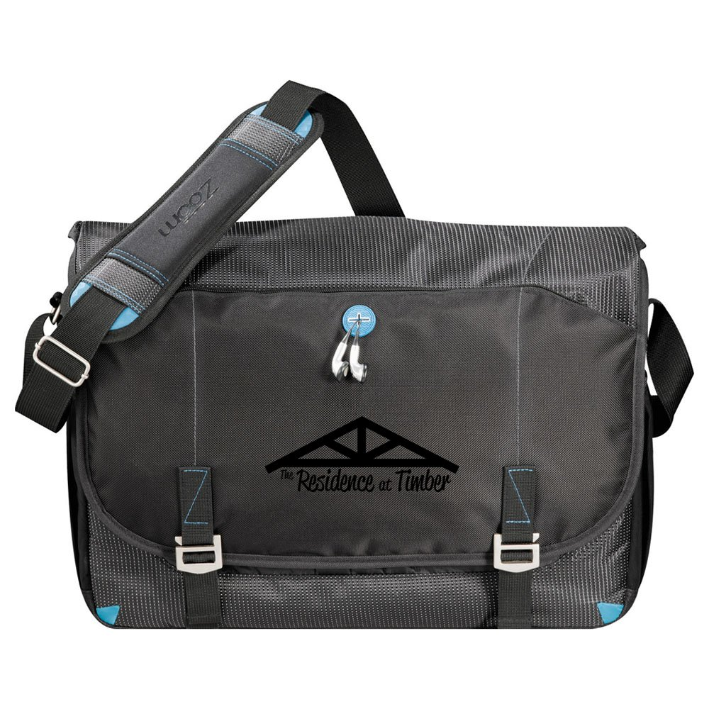 "Zoom® TSA 17"" Computer Messenger Bag"