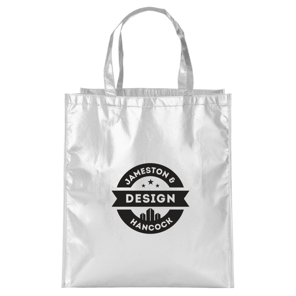 Shiny Metallic Tote Bag