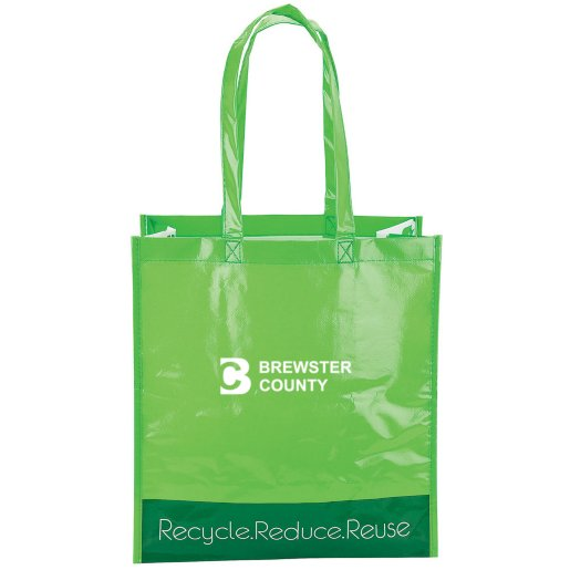 Recycle Themed Reusable Tote Bag