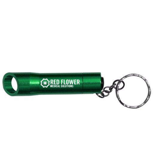 2-in-1 Flashlight and Bottle Opener Keychain
