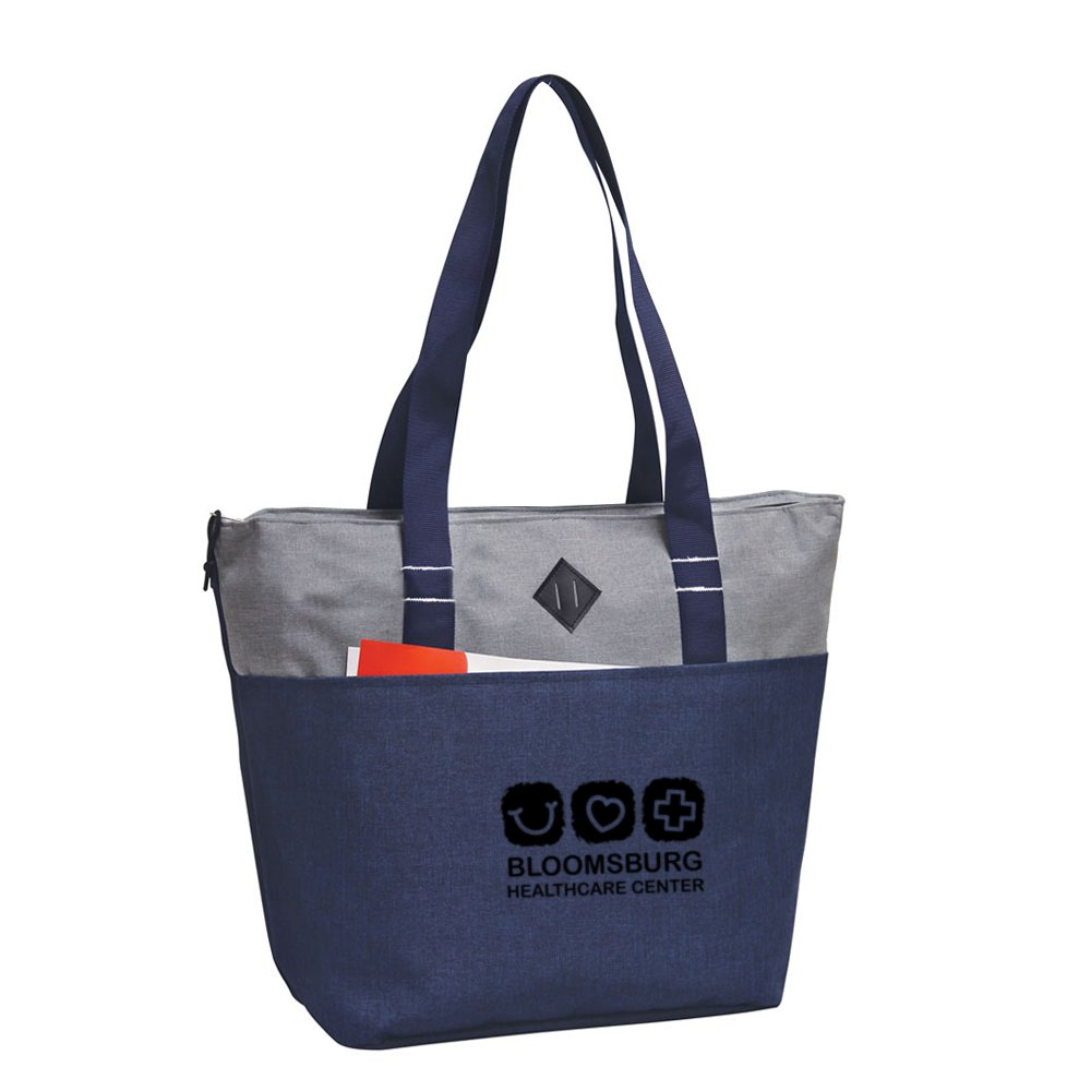 Urban Style Commuter Zipper Tote Bag