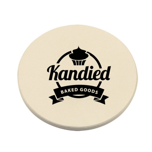 Round Absorbant Drink Coaster
