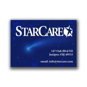 Business Card Magnet - 20 Mil