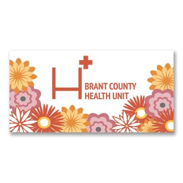 "Rectangle Bumper or Window Sticker Up to 75"" SQ"