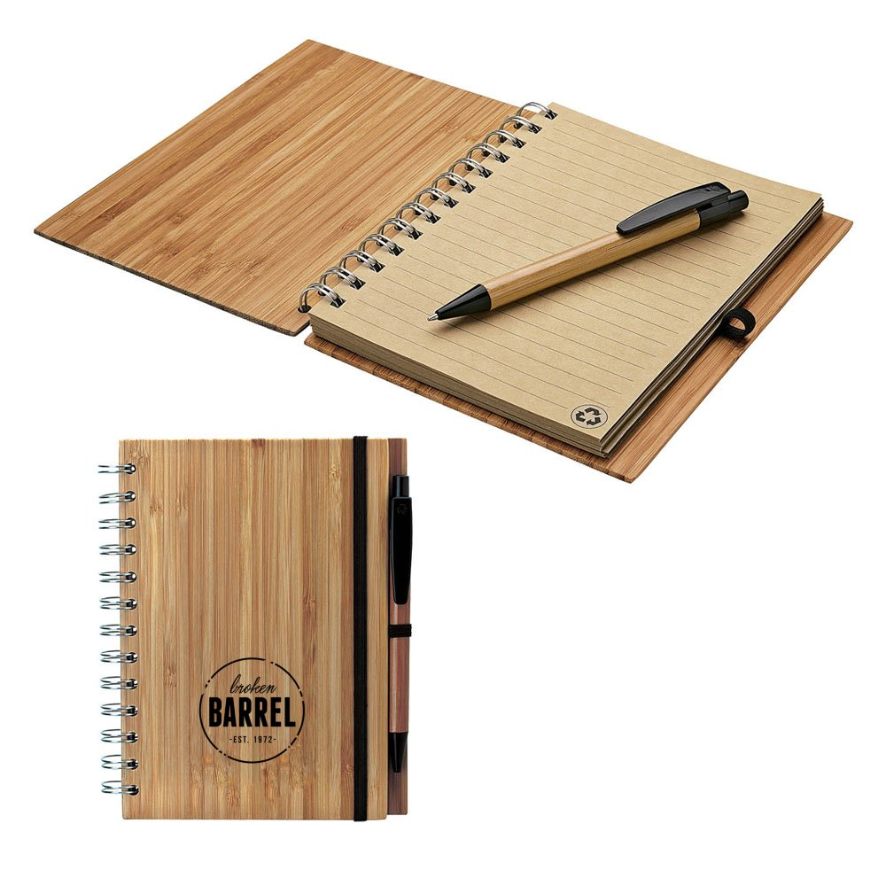 Bamboo Notebook & Pen Set