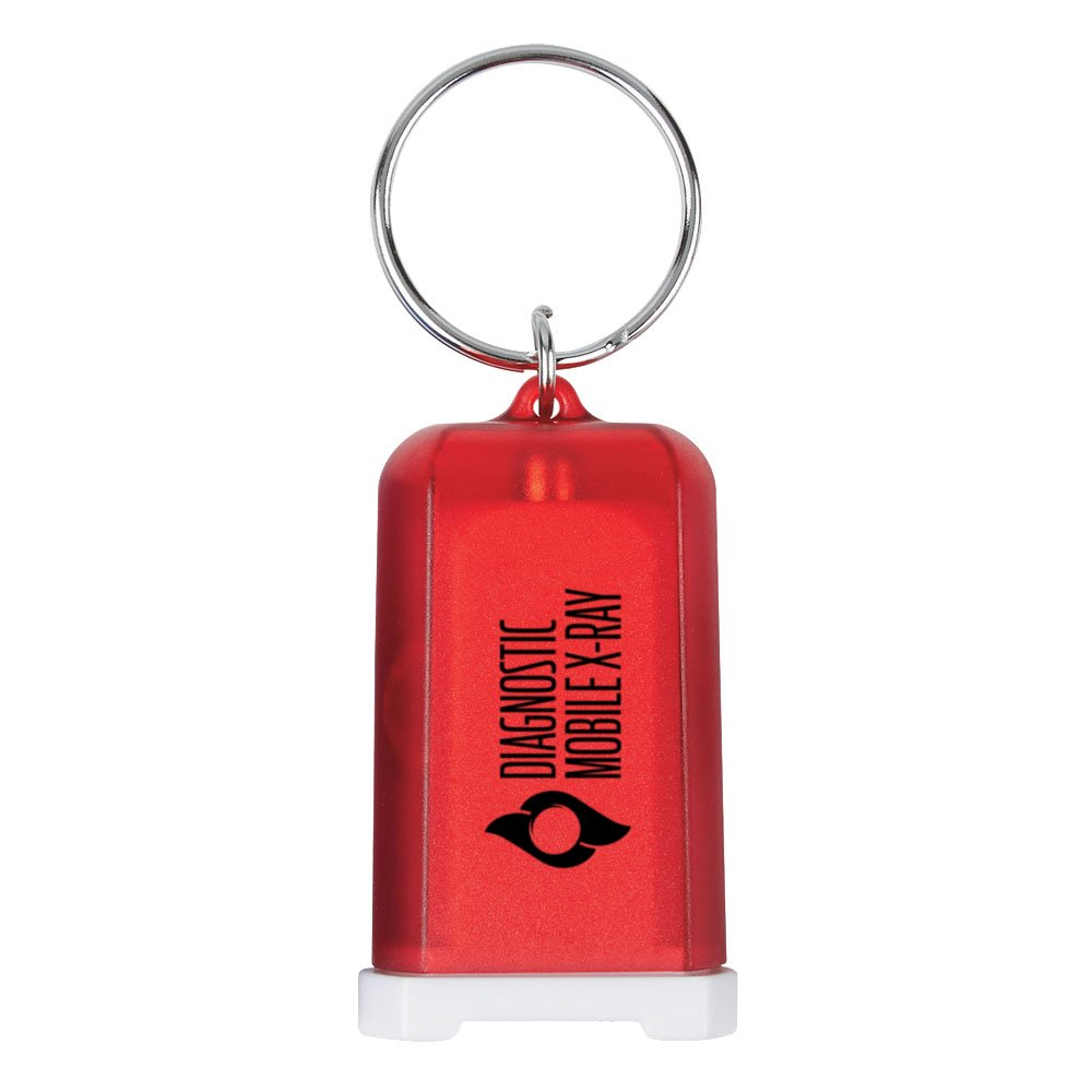 Mini USB Car Charger Keychain
