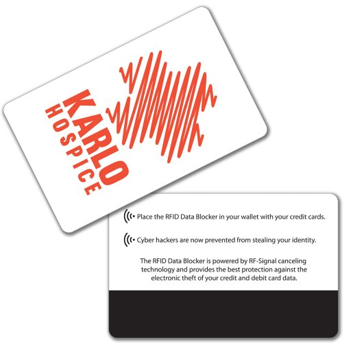 RFID Data Blocker Wallet Card