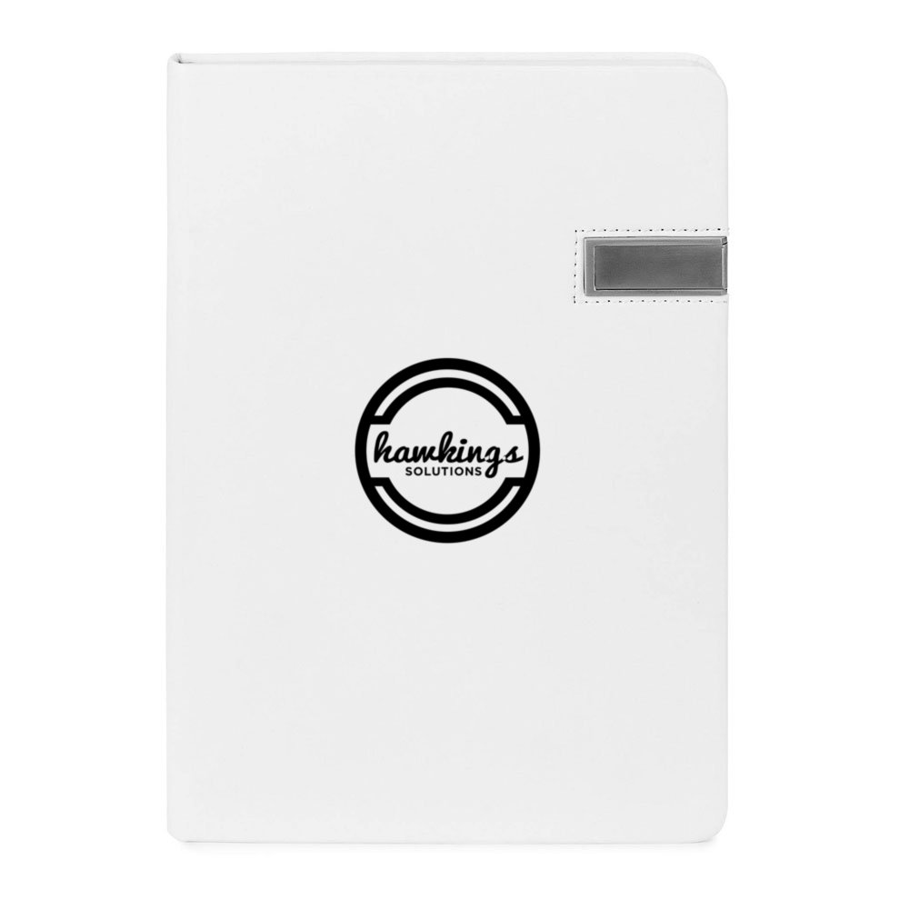 Hardcover Journal with 4GB USB Flash Drive
