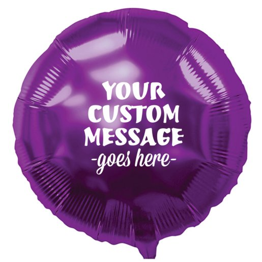 Round Mylar Party Balloon