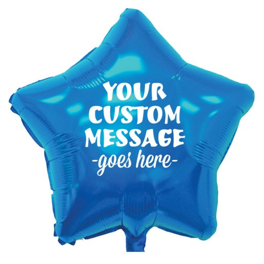 Star Mylar Party Balloon
