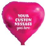 Heart Mylar Party Balloon