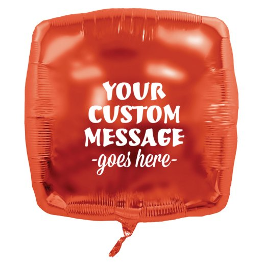 Square Mylar Party Balloon