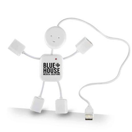 The Hub Man - 4 Port USB Hub
