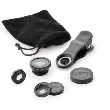 The Mirage 3-in-1 Clip-On Mobile Lens Kit
